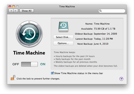 speed up time machine backup