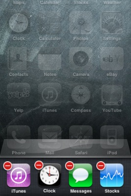 screenshot of iPhone showing how to remove apps from the list of recent apps