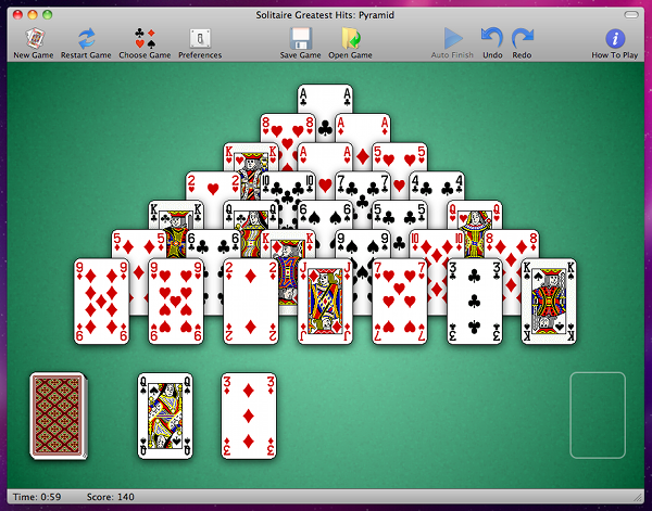 solitaire free games for mac no downloading