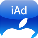 logo for Apple's iAd advertising service for the iPhone and iPad